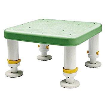 シンエイテクノ ダイヤタッチ浴槽台 コンパクトサイズグリーン15-25【smtb-s】