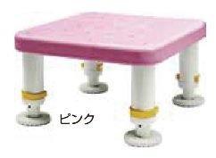 シンエイテクノ ダイヤタッチ浴槽台 レギュラーサイズピンク10-15【smtb-s】