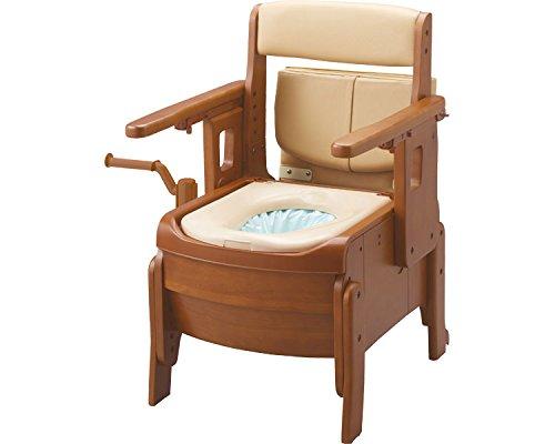 アロン化成 家具調トイレ セレクトR 自動ラップ はねあげ-標準【smtb-s】