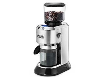 デロンギ KG521J-M 「デディカ」 コーヒーグラインダー メタルシルバー(KG521JM)【smtb-s】