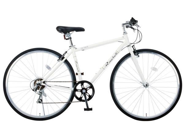Raychell(レイチェル) 【RAYCHELL】CR-7007R ホワイト クロスバイク (35653) ※北海道、沖縄、離島配送不可【沖縄・離島への配送不可】【smtb-s】