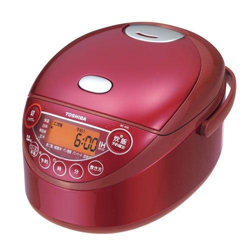 東芝 RC-6XKLR) IHジャー炊飯器(3.5合炊き) グランレッド(RC-6XL)【smtb-s】