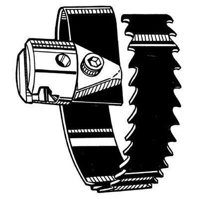 リジッド 63075RIDGID スパイラル鋸刃カッタ(75mm) T‐224951671