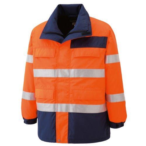 【送料無料】 SE1125UESミドリ安全 高視認性 防水帯電防止防寒コート オレンジ S7978847【smtb-s】