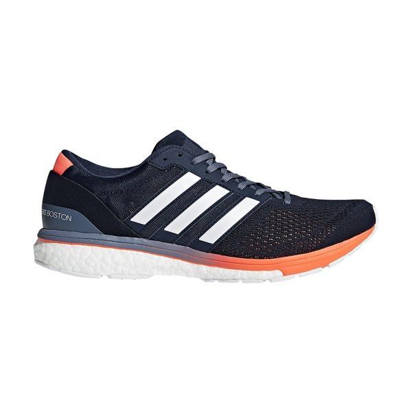 adidas [アディダス] ランニングシューズ adiZERO boston BOOST 2 BB6412 メンズ カレッジネイビー/ランニングホワイト/ハイレゾオレンジ S18 28.0cm