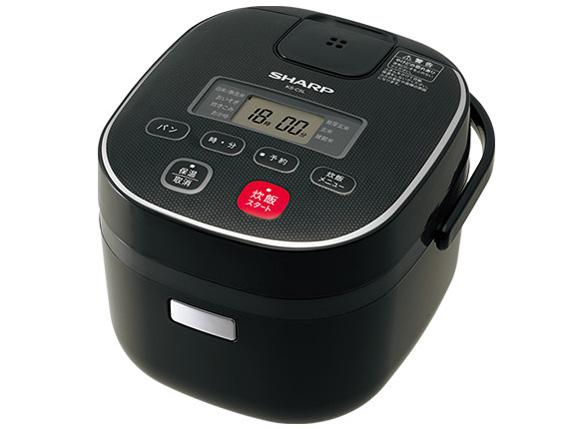 シャープ 東芝 KS-C5L-B ジャー炊飯器 (3合炊き) ブラック系(KS-C5L)【smtb-s】