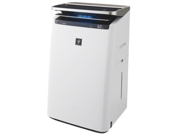 シャープ 加湿空気清浄機 プラズマクラスター ホワイト KIHP100W【smtb-s】