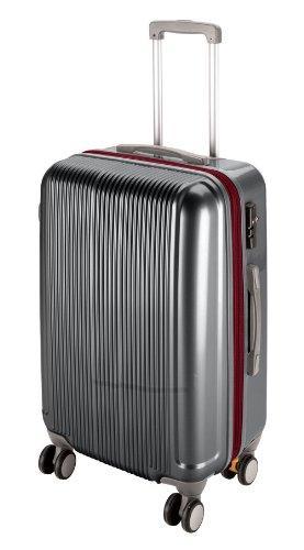 キャプテンスタッグ トラベルスーツケース<M>(スチールグレー) (UV0029)【smtb-s】, ナミオカマチ:55e3b56a --- sunward.msk.ru