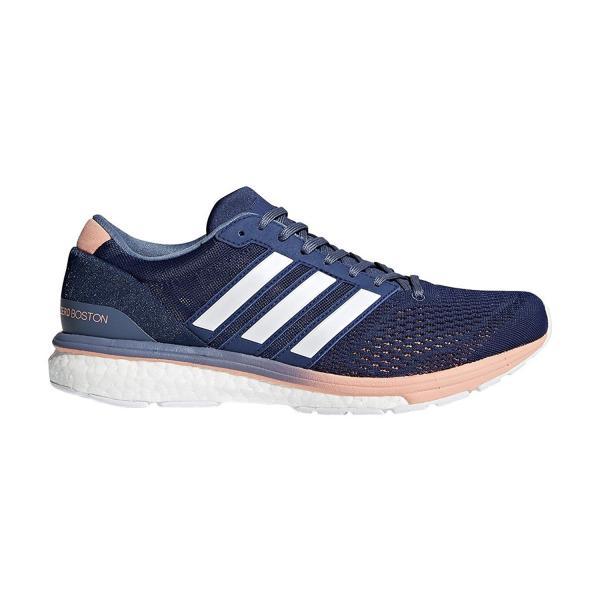 adidas ランニングシューズ Adizero Boston Boost 2 W BB6418 ノーブルインディゴ S18/ランニングホワイト/ロースティール S18 25 cm