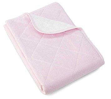 ロマンス小杉 アイス眠 EX-麻 敷きパッドD(140×205cm) ピンク