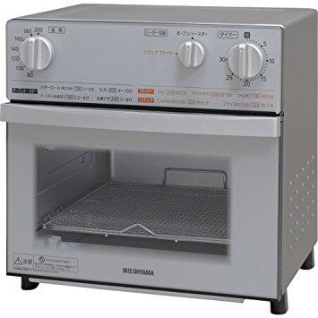 アイリスオーヤマ ノンフライ熱風オーブン FVX-D3B-S シルバー【smtb-s】