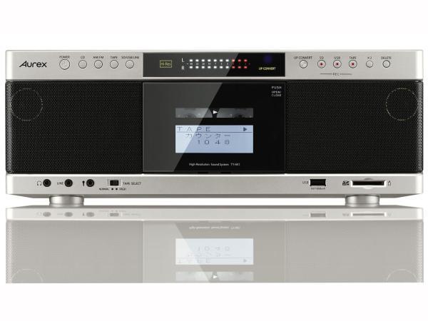 東芝 TY-AK1(N) 【ハイレゾ音源対応】 Aurexシリーズ SD/USB/CDラジオカセットレコーダー サテンゴールド(TY-AK1(N))【smtb-s】