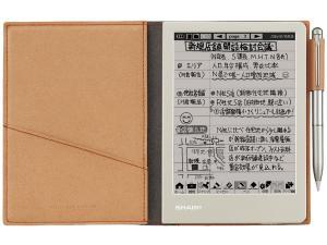 シャープ 電子ノート ブラウン系 WG-S30-T【smtb-s】