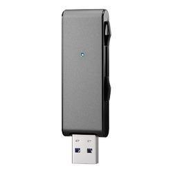 アイ・オー・データ機器 USB 3.1 Gen 1(USB 3.0)対応USBメモリー128GB ブラック U3-MAX2/128K(U3-MAX2/128K)【沖縄・離島への配送不可】