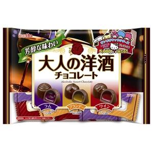 送料無料 名糖産業 大人の洋酒チョコレート 新色 150g 入数:12 バーゲンセール