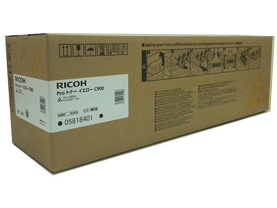 リコー RICOH Proトナー イエロー C900 (A4・7.5% 約48000ページ印刷可能) (600025)【smtb-s】