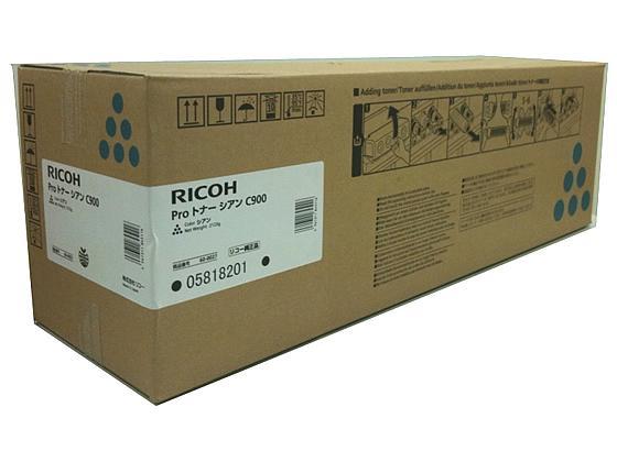 リコー RICOH Proトナー シアン C900 ( A4・7.5% 約48000ページ印刷可能 ) ( 600027 )【smtb-s】