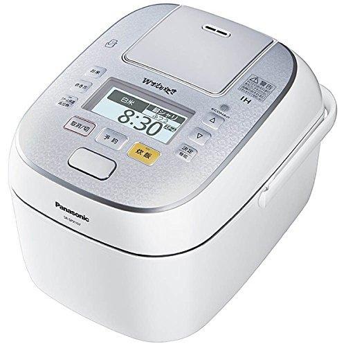 パナソニック 5.5合 炊飯器 圧力IH式 Wおどり炊き スノークリスタルホワイト SR-SPX107-W【smtb-s】