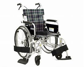 カワムラサイクル 自走用車いす KA800Light 中床・ソフトタイヤ仕様 KA822L-40B-MS A9 / 座幅40cm A9