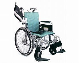 カワムラサイクル 自走用車いす KA800Light 中床・ソフトタイヤ仕様 1KA822L-40B-MS No81 / 座幅40cm No.81