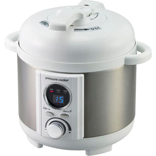 アルファックス・コイズミ AL COLLE(アルコレ) 電気圧力鍋1.2L ホワイト LPCT12W【smtb-s】