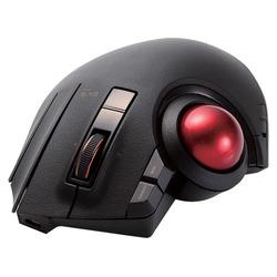 エレコム トラックボールマウス/親指/8ボタン/チルト機能/有線/無線/Bluetooth/1000万回耐久/ブラック(M-XPT1MRBK)【smtb-s】