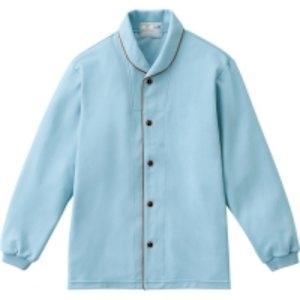 トンボ 前開きシャツ ブルー Lサイズ CR836-75-L【smtb-s】
