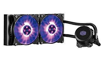 Coolermaster Cooler Master MasterLiquid ML240L RGB 水冷CPUクーラー [Intel/AMD両対応] FN1138 MLW-D24M-A20PC-R1【smtb-s】