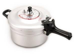 北陸アルミニウム 0199002 リブロンアルミ圧力鍋4.5L【smtb-s】