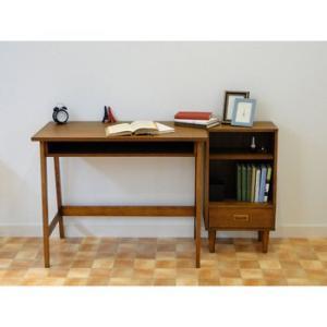 UNI hommage Desk ブラウン HMT-2462BR【smtb-s】