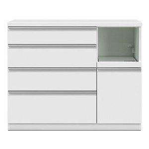 共和産業 グラッセ キッチンカウンター 120H ホワイト【幅120×高さ98cm】【smtb-s】