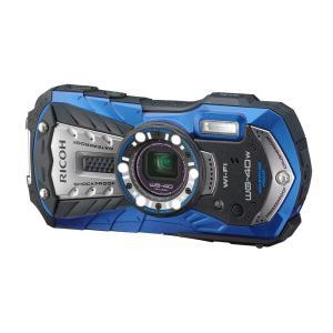 リコー 防水デジタルカメラ WG-40W (ブルー) WG-40WBL(WG-40WBL)【smtb-s】