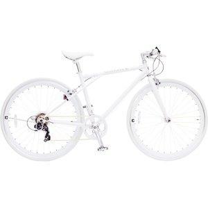 TOP ONE トップワン  CREATE 700Cクロスバイク外装6段 C210-460-WH(ホワイト)【沖縄・離島への配送不可】【smtb-s】