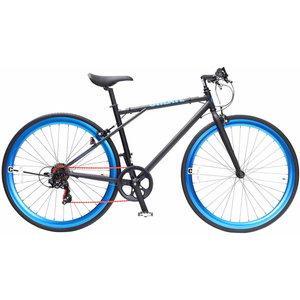 TOP ONE トップワン  CREATE 700Cクロスバイク外装6段 C210-460-BK(ブラック)【沖縄・離島への配送不可】【smtb-s】