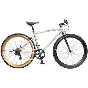 TOP ONE トップワン  CREATE 700Cクロスバイク外装7段 C310-460-CGD シャンパンゴールド【沖縄・離島への配送不可】【smtb-s】