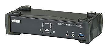 ATENジャパン CS1922 USB 3.0ハブ搭載 2ポートUSB DisplayPort1.2 KVMPスイッチ(CS1922)【smtb-s】