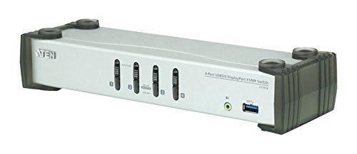 ATENジャパン CS1914 USB 3.0ハブ搭載 4ポートUSB DisplayPort1.1 KVMPスイッチ(CS1914)【smtb-s】