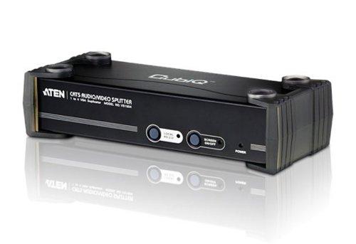ATEN 4ポートVGA・オーディオ・RS232分配器 (送信機) VS1504T (VS1504T)【smtb-s】