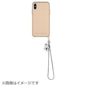 iPhone X LEATHER WRAP CASE WITH CHARM -Metallic Oyster(RMIPH-077-MOEE)【smtb-s】