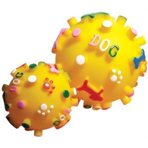 ノルコーポレーション プープードッグボール S 黄色
