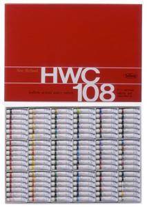 ホルベイン工業 【ホルベイン】透明水彩2号 W422 108色セット【smtb-s】