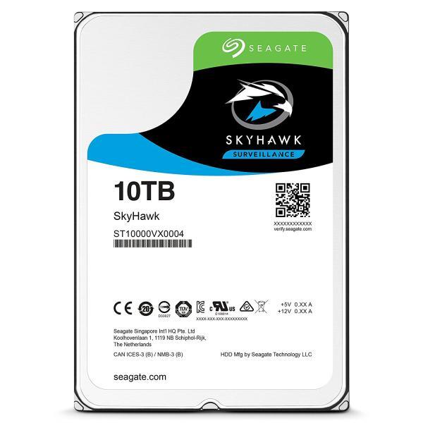 【送料無料】 シーゲイト SkyHawk 3.5 HDD (Helium) シリーズ 3.5inch SATA 6Gb/s 10TB 7200rpm 256MB(ST10000VX0004)【smtb-s】