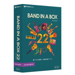 イーフロンティア Band-in-a-Box 22 for Mac EverythingPAK[Mac](PGBBMEM111)【smtb-s】