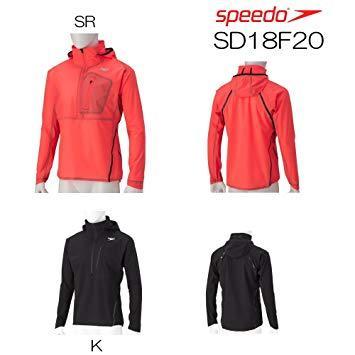 Speedo(スピード) SPEEDO_アノラックジャケット (SD18F20) [色 : Sレッド] [サイズ : M]【smtb-s】