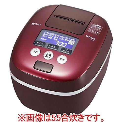 タイガー 圧力IH炊飯ジャー 「炊きたて 360°デザイン」 (1升炊き) ボルドー(JPC-A182RD)【smtb-s】
