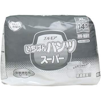 カミ商事 エルモア いちばん パンツ スーパー XL【入数:6】【smtb-s】