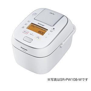 パナソニック SR-PW188-W 可変圧力IH炊飯ジャー 「Wおどり炊き」(1升) ホワイト(SR-PW188)【smtb-s】