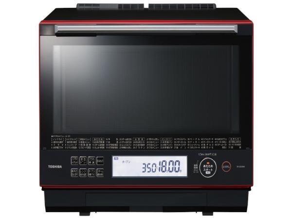 東芝 ER-SD5000-R 過熱水蒸気オーブンレンジ 「石窯ドーム」 30L グランレッド(ER-SD5000)【smtb-s】