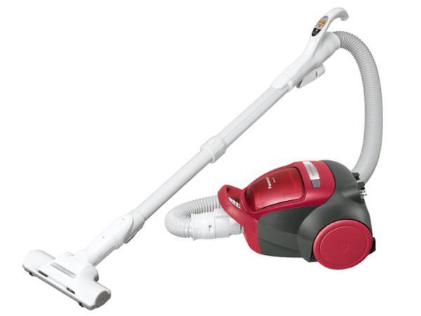 パナソニック サイクロン式掃除機 レッド MC-SK17A-R【smtb-s】