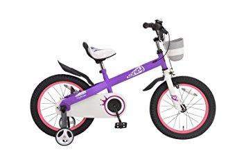 ROYALBABY CYCLE CO.. LTD 【Royalbaby】RB-WE HONEY 16 purple 子供車 (37293) ※北海道、沖縄、離島配送不可【沖縄・離島への配送不可】【smtb-s】